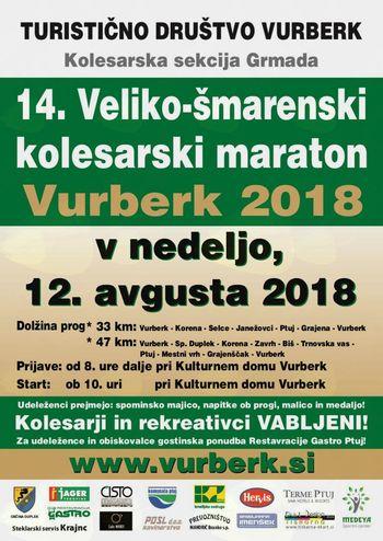 14. Veliko-šmarenski kolesarski maraton