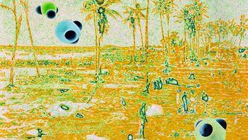 Otvoritev razstave Uroša Weinbergerja z naslovom Projectories