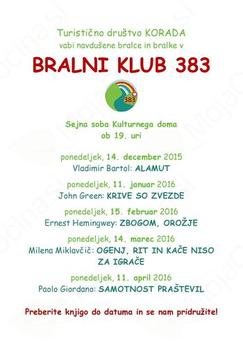 Bralni klub 383