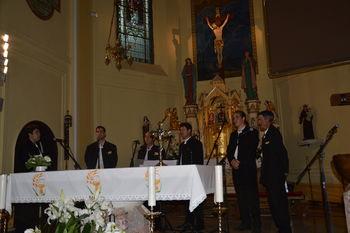 Gostovanje Klape Komiže v občini Sevnica - koncert V Boštanju