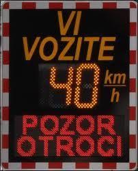 Meritve hitrosti v cestnem prometu