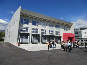 Nov logistični center v Ajdovščini