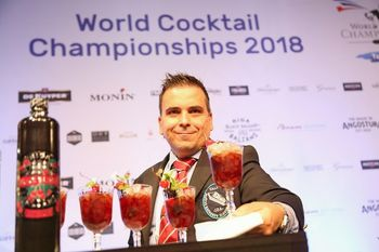 Tomaž Fartek postal vice prvak sveta v mešanju koktajlov