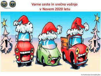 Varno in srečno v Novo leto