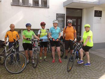 Tržiški upokojenci organizirano kolesarijo