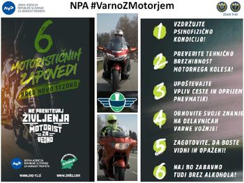 Nacionalna preventivna akcija Vozniki enoslednih motornih vozil