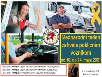 Mednarodni teden zahvale poklicnim voznikom