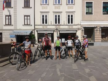 Peti organiziran kolesarski izlet DU Tržič