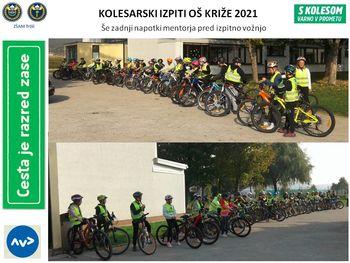 Nova generacija mladih kolesarjev 2021