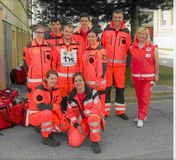 Regijsko preverjanje ekip prve pomoči v Ribnici