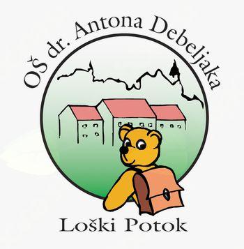 Vabilo na zaključni koncert šolskih pevskih zborov in gledališkega kluba Osnovne šole dr. Antona Debeljaka Loški Potok