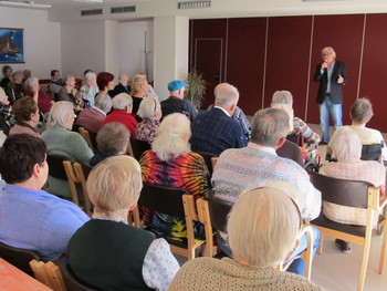 DSO Preddvor v okviru dneva starejših obiskal Lado Leskovar
