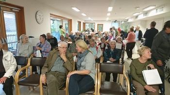 Prostovoljci Rdečega križa Slovenije obiskali DSO Preddvor