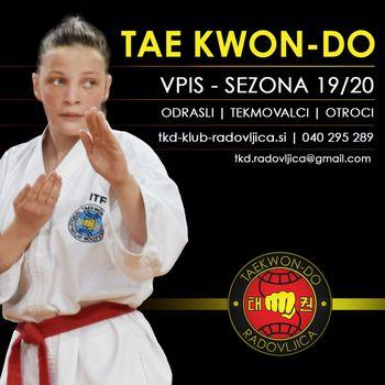 VPIS NOVIH ČLANOV - TAEKWON-DO