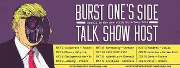 Koncert: Burnst one's side + Talk show host (fra/can punkrock/poppunk)