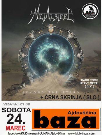 Koncert: METALSTEEL + ČRNA SKRINJA