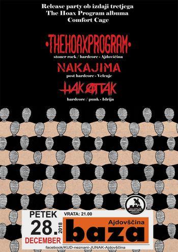 Koncert: The Hoax Program, Nakajima in Hak Attak