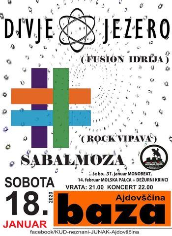 Koncert: Divje jezero + Sabalmoza