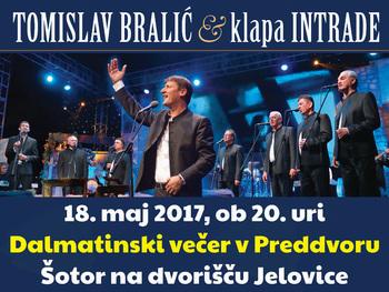 Na Vikendu zabave - Preddvor 2017 tudi dalmatinska klapa Intrade