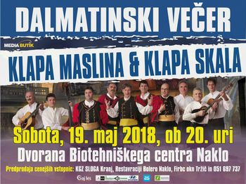 Dalmatinski večer pod gorami