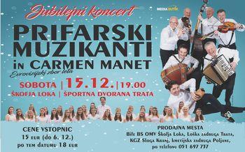 Prifarski muzikanti v jubilejnem letu tudi na Gorenjskem