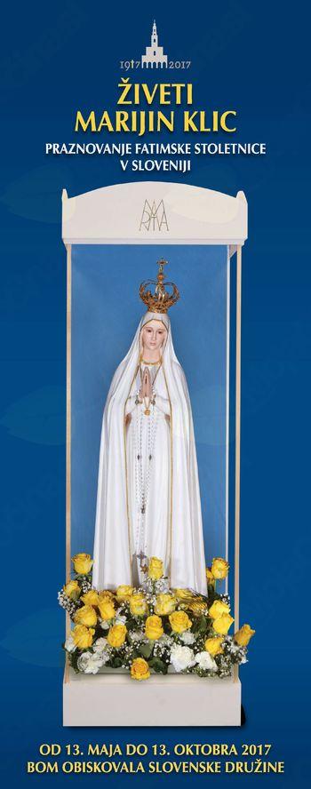 Živeti Marijin klic - Marija obiskuje naše družine