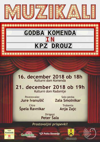 Koncert Godbe Komenda - MUZIKALI