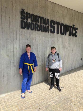 Odlične borbe mladih judoistov v Novem mestu