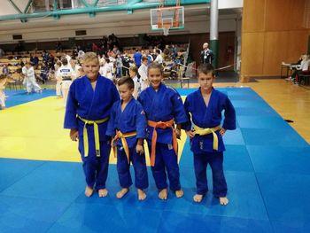 Judo klub Komenda z odličji začel novo sezono
