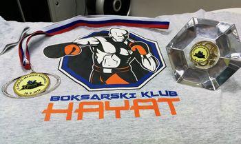 Odličen nastop Boksarskega kluba HAYAT  na mednarodnem turnirju v Celju