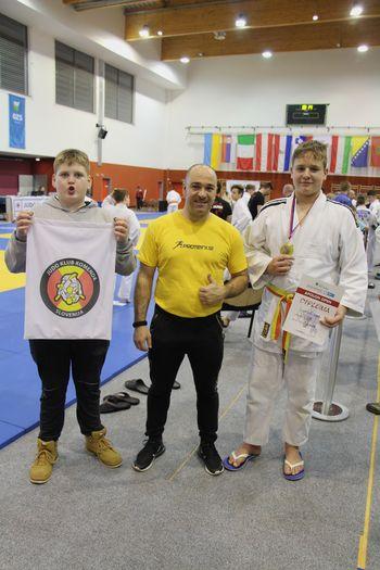 Judo klub Komenda drugo uvrščeni na Mednarodnem turnirju Apolon Open 2019