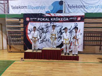 Ekipa judoistov v Krškem osvojila 2. mesto