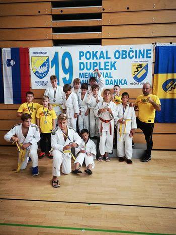 Judo klub Komenda na pokalu Dupleka osvojil 11 kolajn