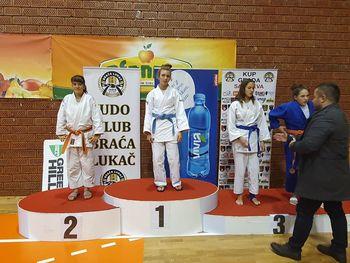 Judo klub Komenda tekmoval v Sarajevu