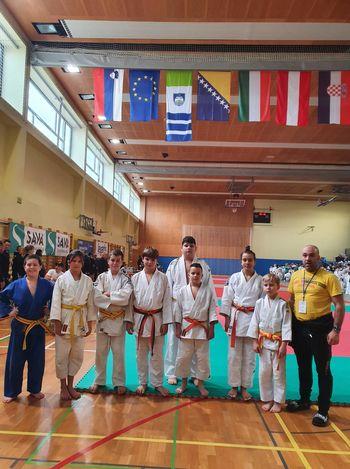 Judo klub Komenda že na prvem tekmovanju v sezoni osvojil 5 medalj