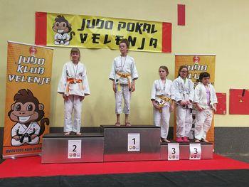 Judo klub Komenda iz Velenja prinesel 8 kolajn