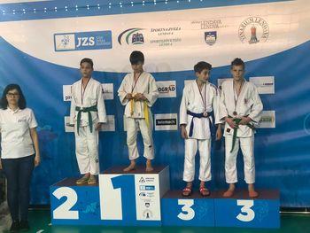 Mlajši kadeti Judo kluba Komenda v Lendavi osvojili kolajne