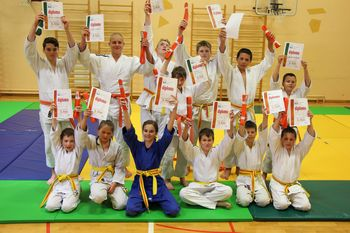 V Judo klubu Komenda izpite za višji pas uspešno opravilo preko 100 judoistov