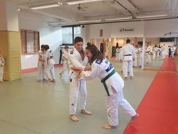 Judo trening z evropskim prvakom in svetovnim podprvakom Mihaelom Žgankom