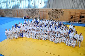 Judo klub Komenda uspešno organiziral tradicionalne judo priprave v Termah Olimia