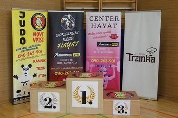 Judo klub Litija in Judo klub Komenda organizirala veliko mednarodno prvenstvo