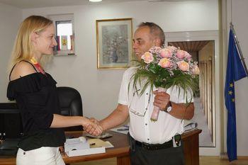 Čestitka Agati Zupin