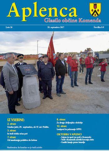 Aplenca – Glasilo občine Komenda 08-09/2017
