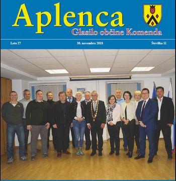Aplenca – Glasilo občine Komenda 11/2018