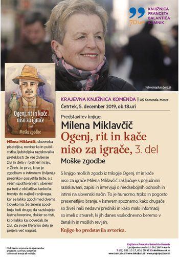 Predstavitev knjige OGENJ, RIT IN KAČE NISO ZA IGRAČE – 3. del