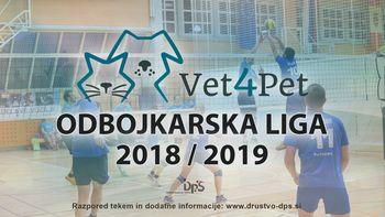 6. krog Vet4Pet odbojkarske lige 2018/2019