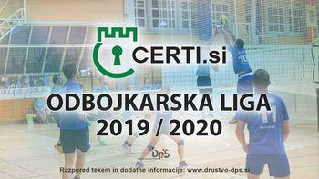 3. krog Certi.si odbojkarske lige 2019/2020