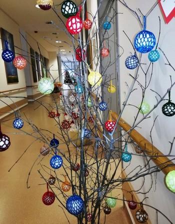 Božično - novoletna razstava v DEOS  Centru starejših Notranje Gorice