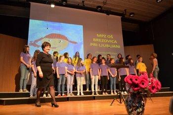 Pesem pomladi 2017 - čestitke OPZ Brezovica, MPZ Brezovica in zborovodkinji Sonji Sojer