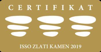 Zlati certifikat ISSO 2019 za Občino Brezovica